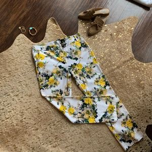 Ovi Floral Straight leg trousers